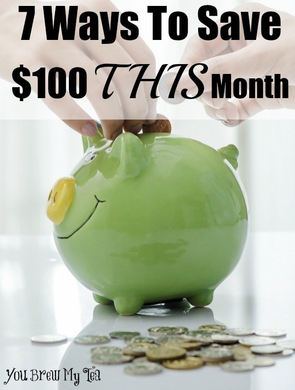 7 Ways To Save 100 This Month