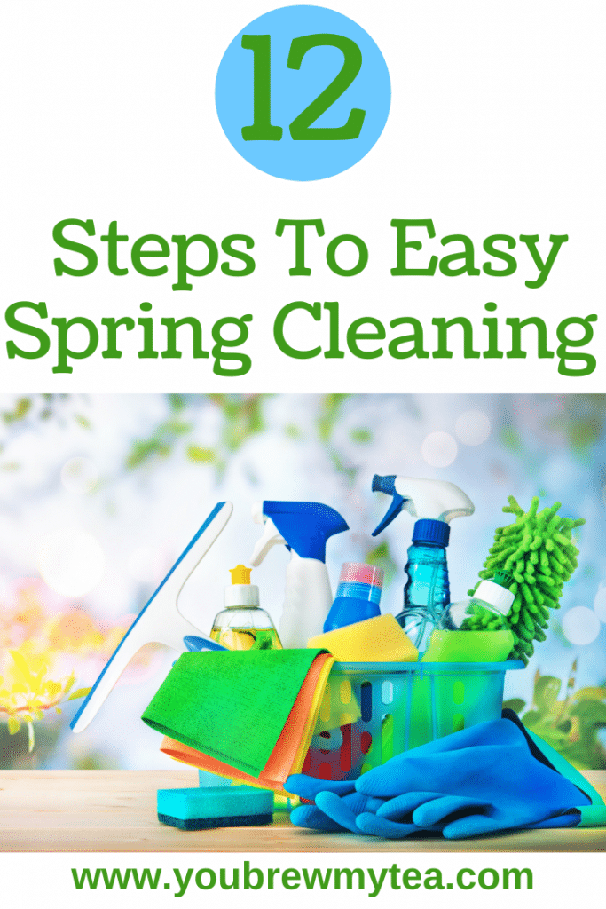 12 Steps To Easy Spring Cleaning