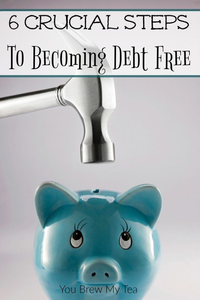 6 Steps To Becoming Debt Free On Any Income