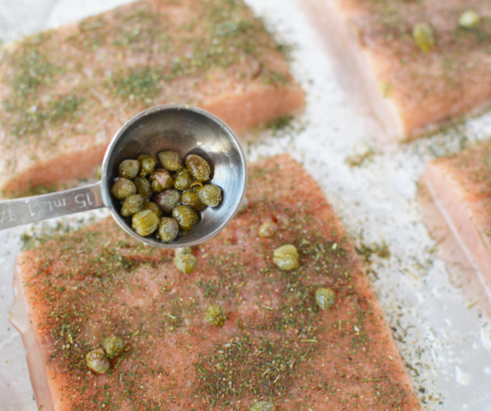 Make our Weight Watchers Broiled Salmon with Dill and Capers in just minutes! This Weight Watchers friendly recipe is a great choice for a Zero Point FreeStyle meal that is packed with flavor!