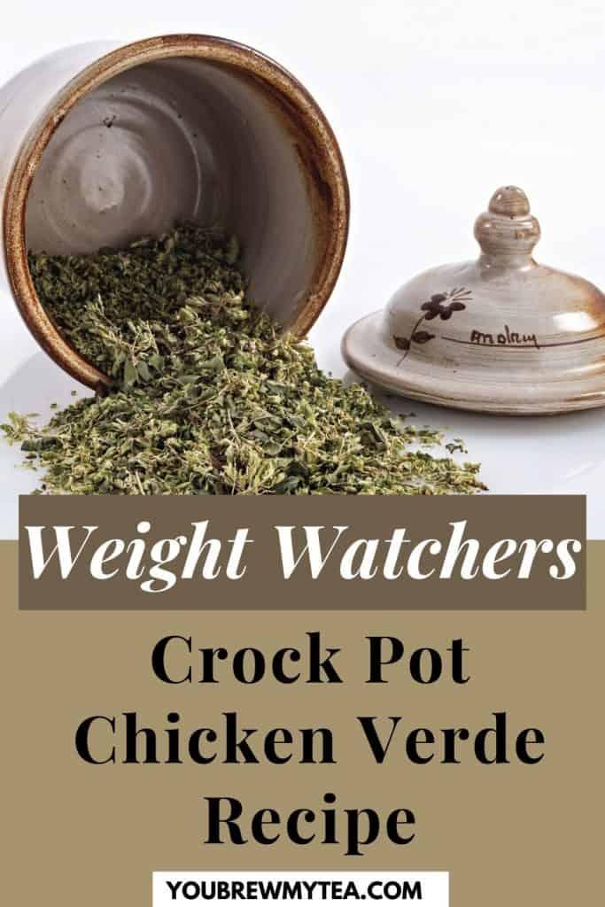 Weight Watchers Crock Pot Chicken Verde Recipe
