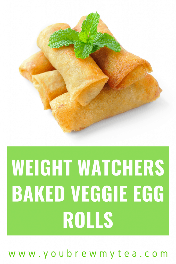 Weight Watchers Baked Veggie Egg Rolls