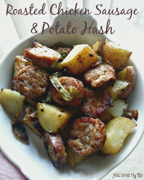 Roasted Chicken Sausage & Potato Hash