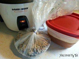 Wild Rice Pilaf Prep
