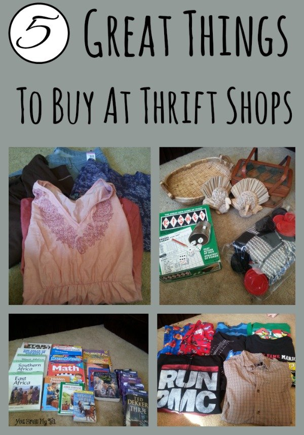 Great Things To Buy At Thrift Shops