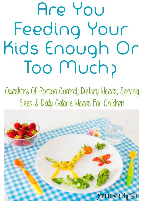 Are You Feeding Your Kids Enough or Too Much?