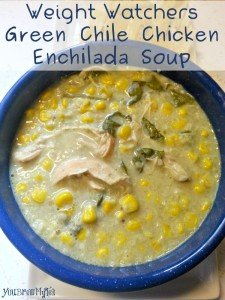 Weight Watchers Green Chile Chicken Enchilada Soup