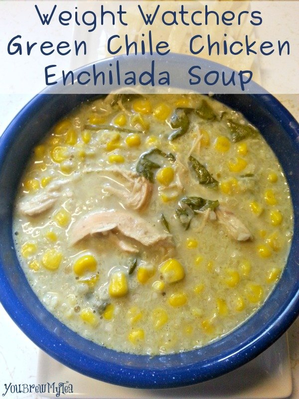 Weight Watchers Green Chile Chicken Enchilada Soup