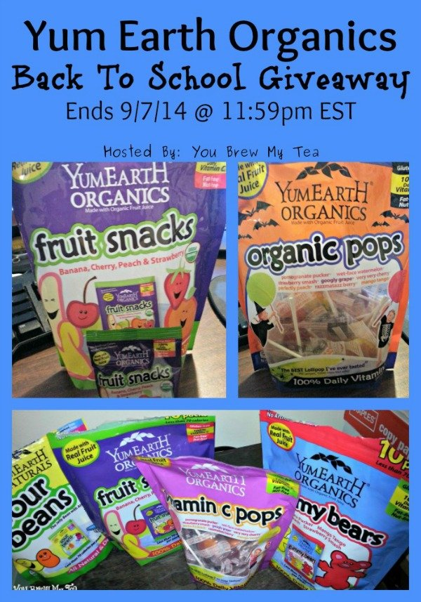 Yum Earth Organics Back To School Giveaway
