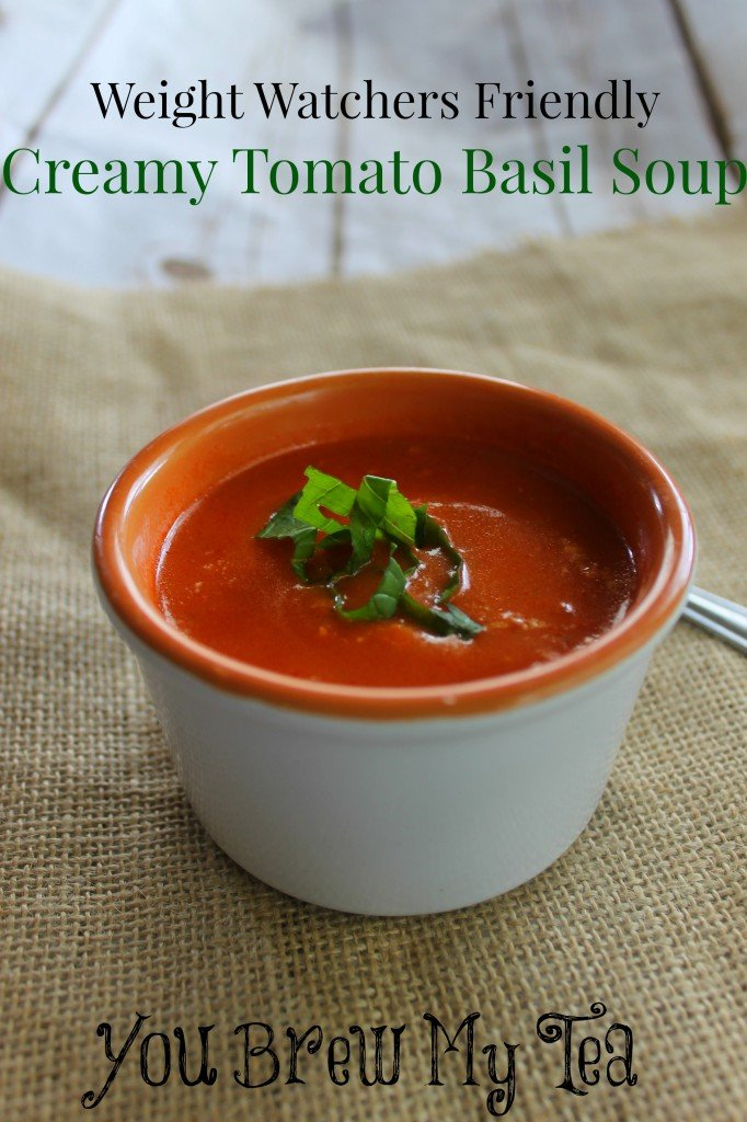 Weight Watchers Creamy Tomato Basil Soup
