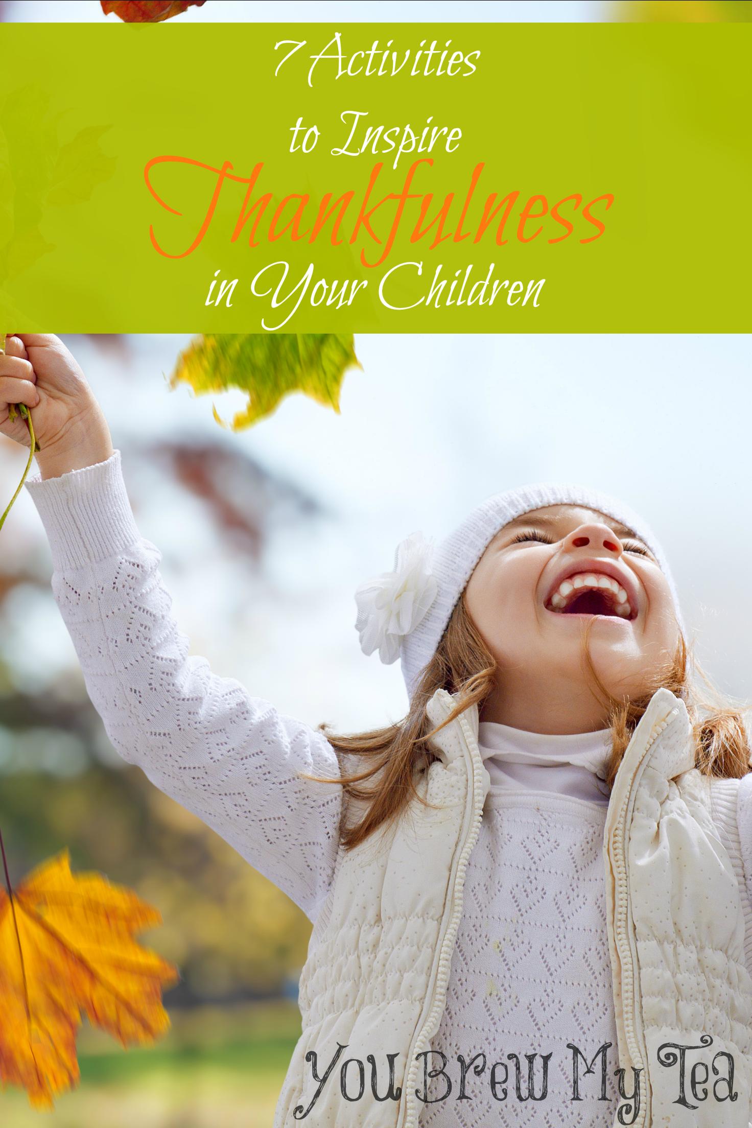 7 thankful activities