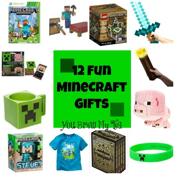 12 Great Minecraft Gifts - You Brew My Tea