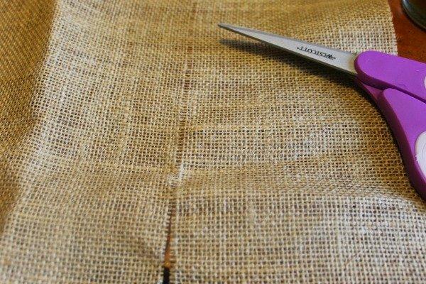 monogram utensil pocket cut
