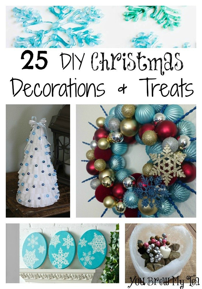 25 DIY Christmas Decorations & Treats