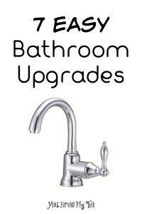 7 Easy Bathroom Upgrades
