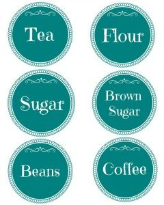 organizing your kitchen plus free printable canister labels canister labels canister decals kitchen by confettichelle