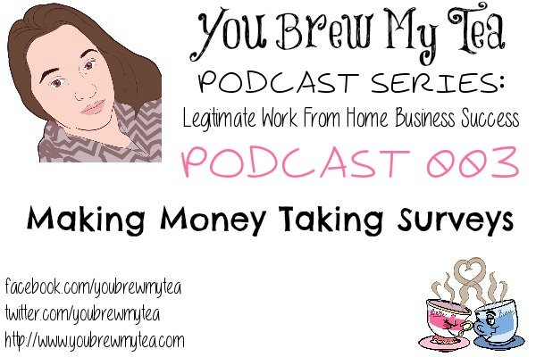 Podcast 003 Making Money Taking Surveys