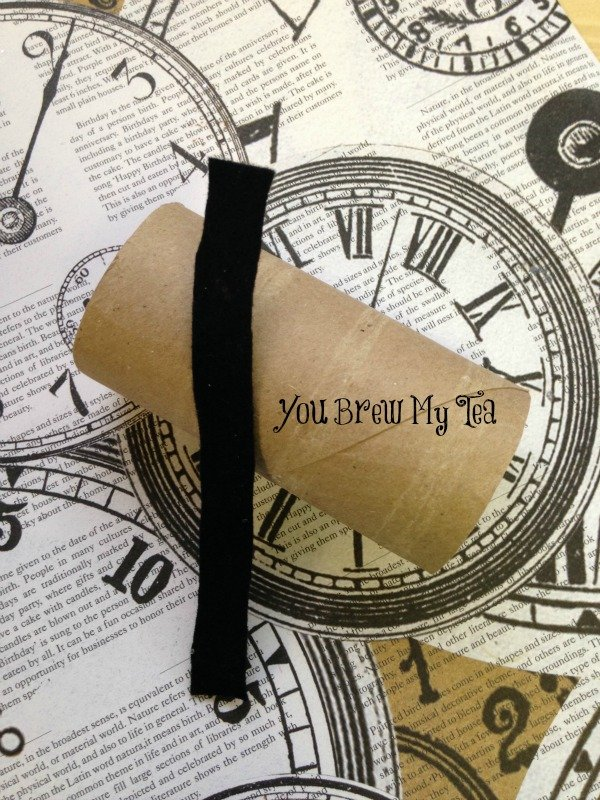 New Years Eve Napkin Ring