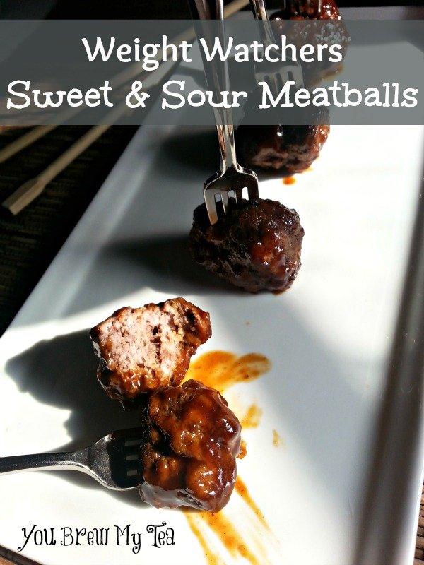 Weight Watchers Sweet & Sour Meatballs