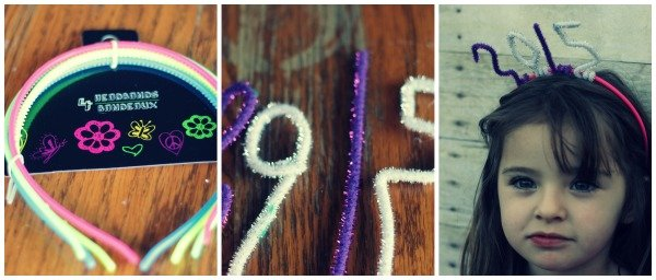 new years craft hat