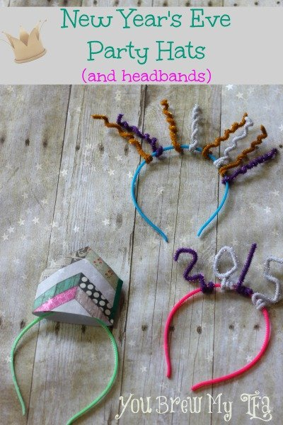 Simple New Year's Eve Party Hats