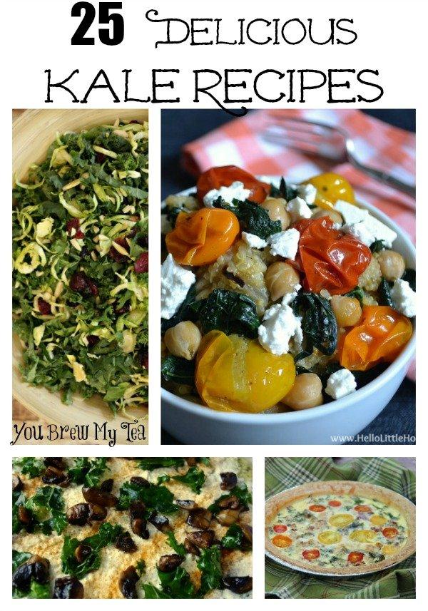 25 Delicious Kale Recipes