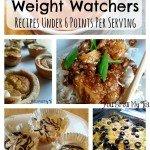 Weight Watchers Recipes Under 6 Points