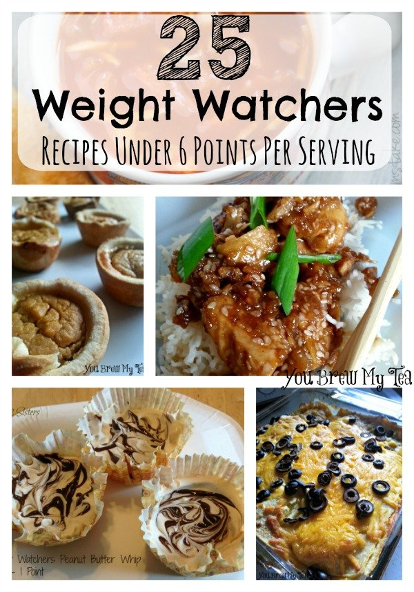 Weight Watchers Recipes Under 6 Points