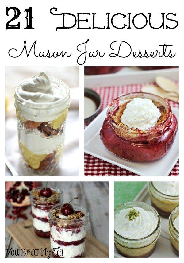 21 Delicious Mason Jar Desserts