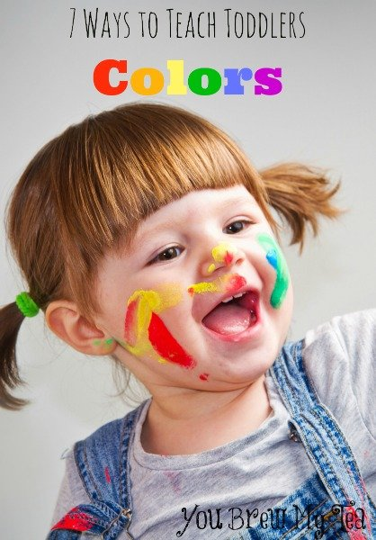 Teach Toddlers Colors