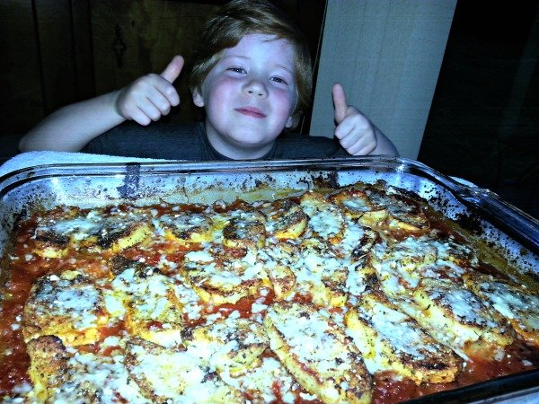 Gluten Free Oven Baked Chicken Parmesan Prep4