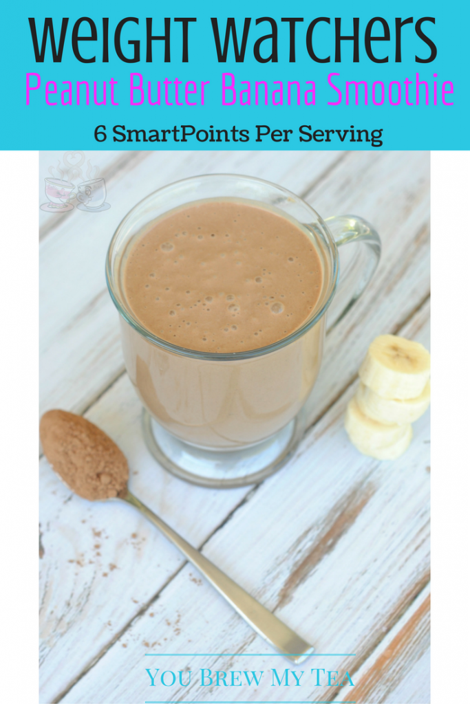 Make this Weight Watchers Peanut Butter Smoothie as a great option for breakfast! Delicious Weigh Watchers Smoothie Recipes everyone loves are easy to make!
