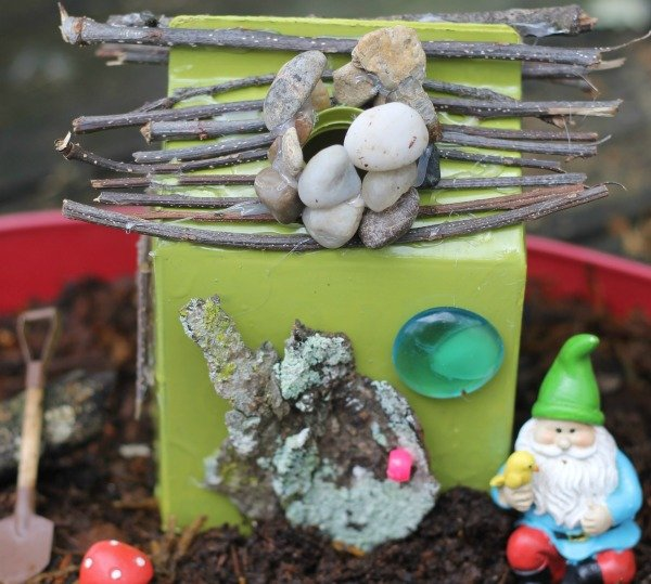 gnome fairy upcycled