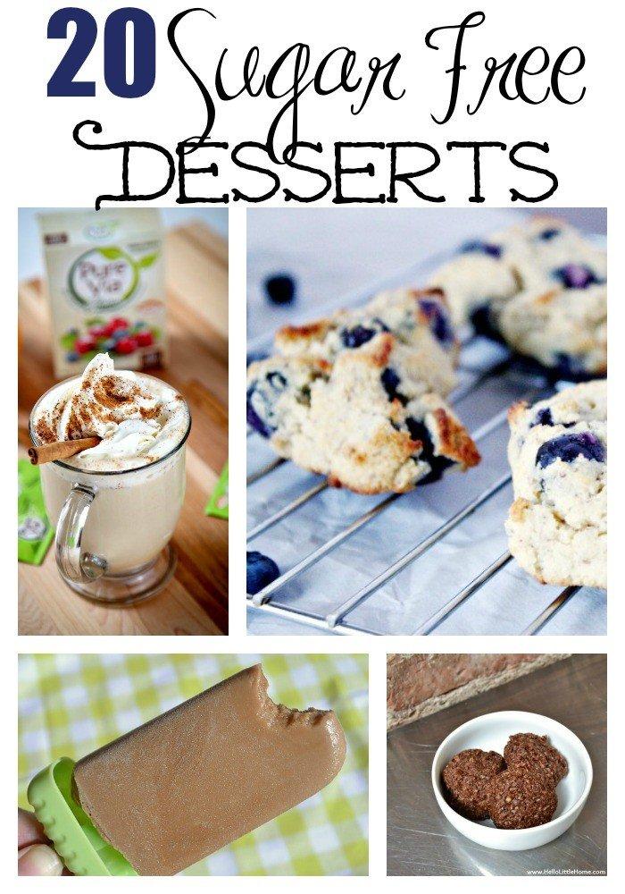 20 Sugar Free Desserts