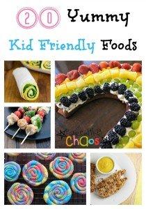 20 Yummy Kid Friendly Foods