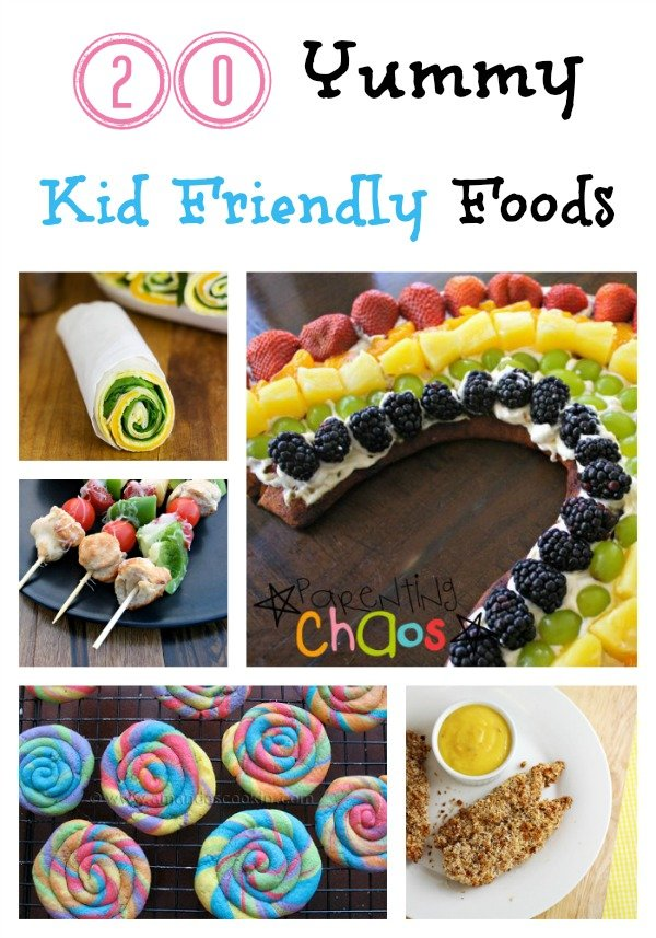 20 Yummy Kid Friendly Foods