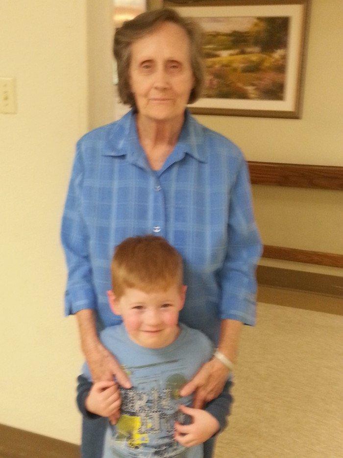 Granny & Wee Child