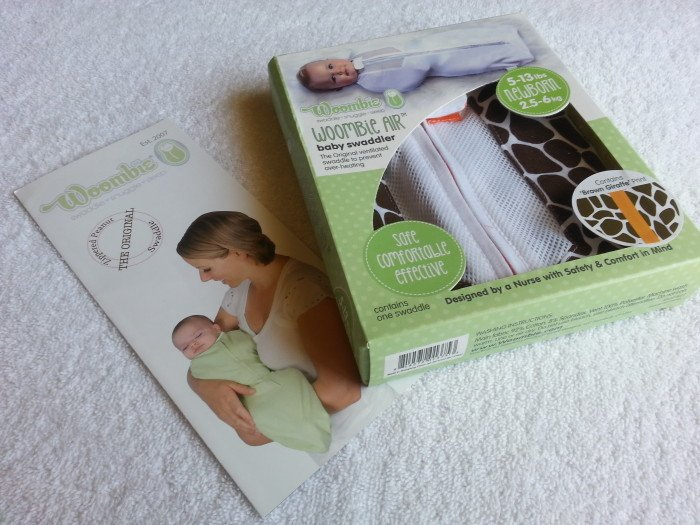 Woombie Air Swaddler Review