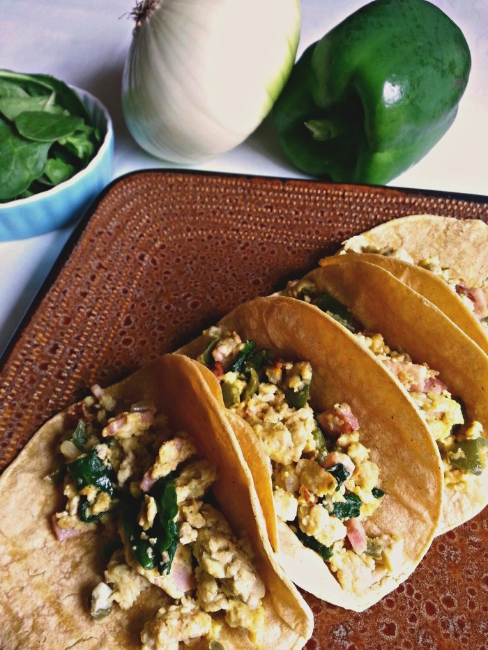 Country Style Breakfast Tacos