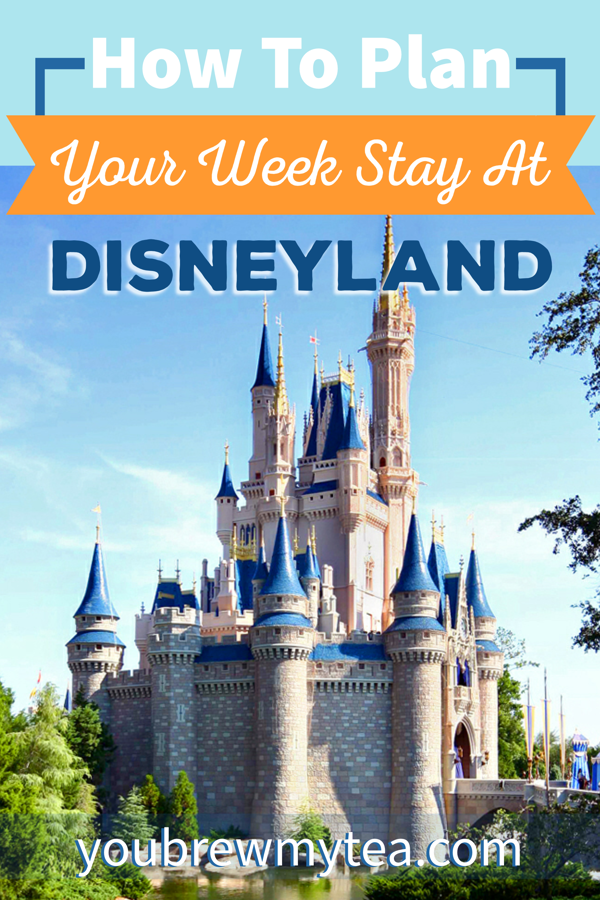 How To Plan Your Week Stay At Disneyalnd