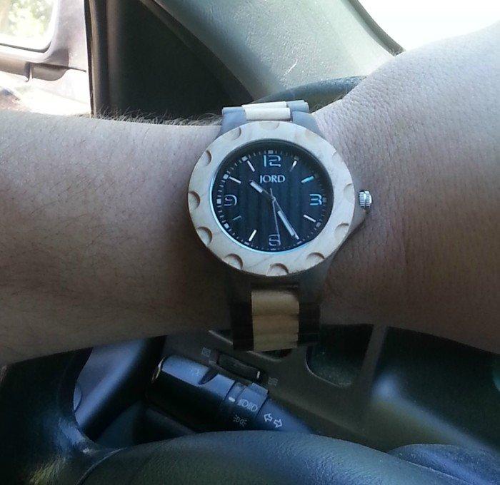 Jord Watch On Steering Wheel