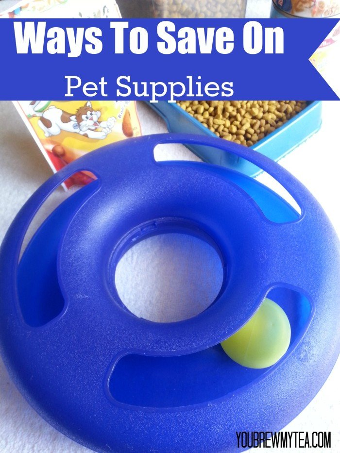 Ways To Save On Pet Supplies