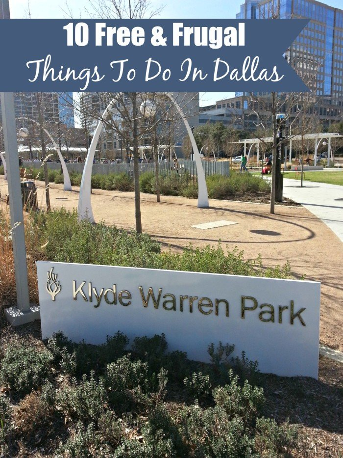 10 Free & Frugal Things To Do In Dallas