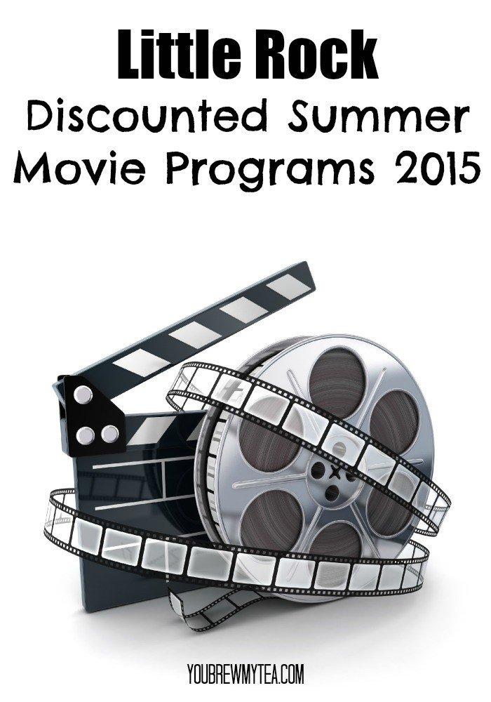 Little Rock Discounted Summer Movie Programs 2015