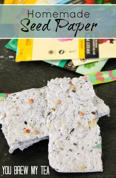 Homemade Seed Paper