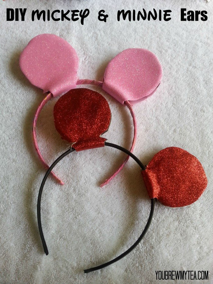 Diy Mickey Mouse Ears For Disneyland You Brew My Tea