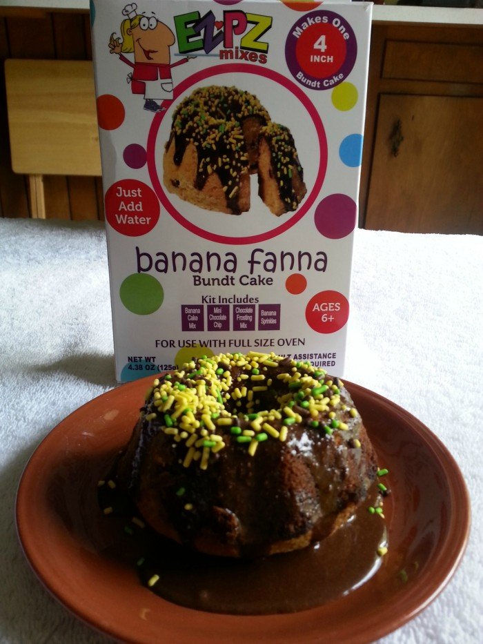 EZPZ Mixes Banana Fanna Cake