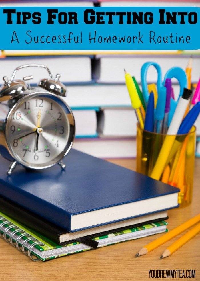 Tips for Getting into a Successful Homework Routine