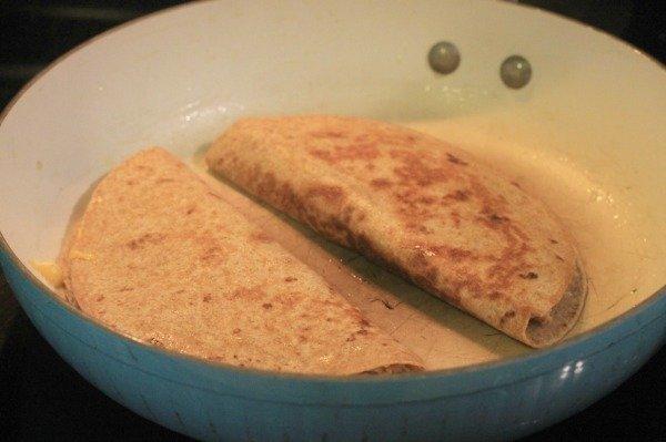 Cheesy Ranch Chicken Quesadillas