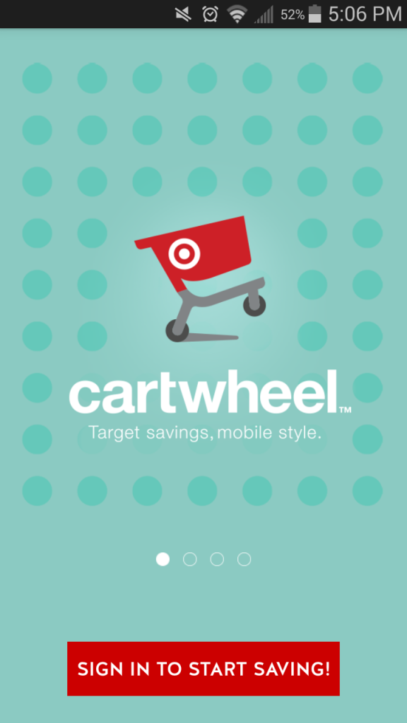 Cartwheel and coupons first